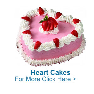Heart Cakes to India