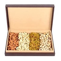 Send 1 Kg Dry Fruits and Rakhi Gifts to Noida