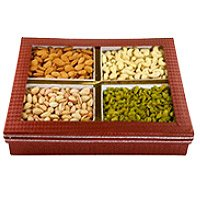 Order Rakhi with 2 Kg Mixed Dry Fruits to India With Bloom N Bud
