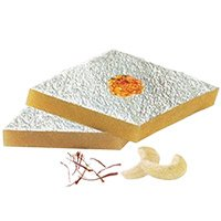 500 gm Kaju Katli with Rakhi in India